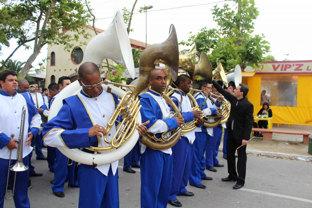 Championship of bands in Cassino